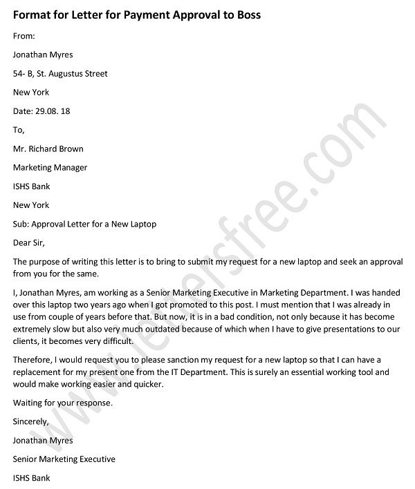 Approval letter archives free letters approval letter format to boss for payment approval letter sample spiritdancerdesigns Choice Image