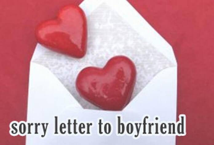 sorry letter to boyfriend