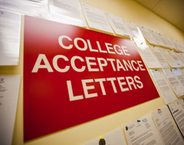 college acceptance letter template