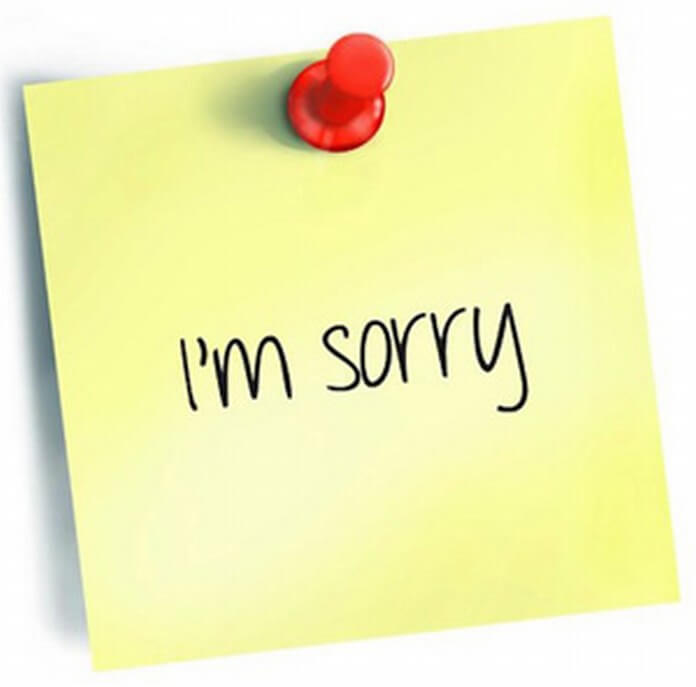 Apology Letter Tips