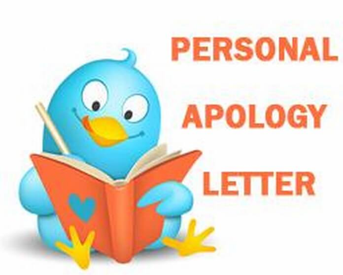 personal apology letter sample