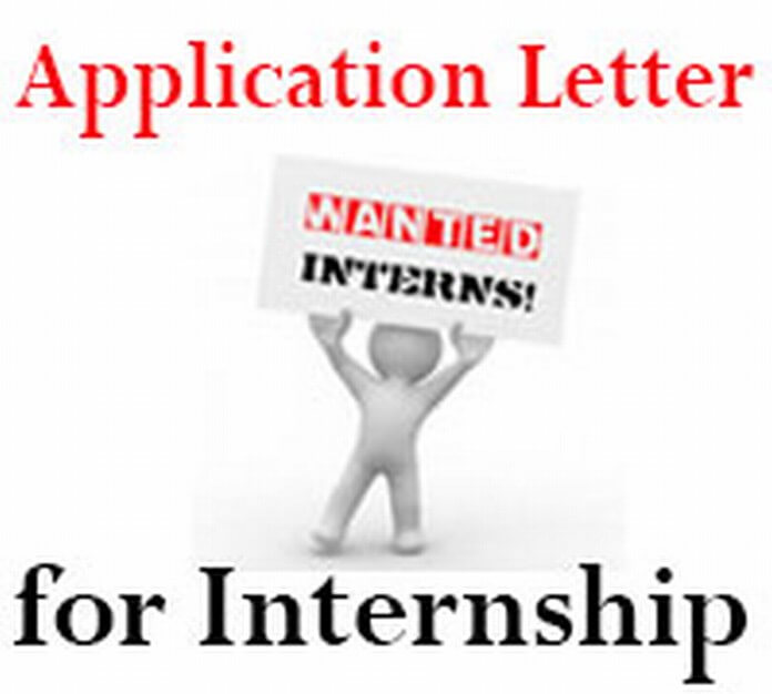 Internship Application Letter