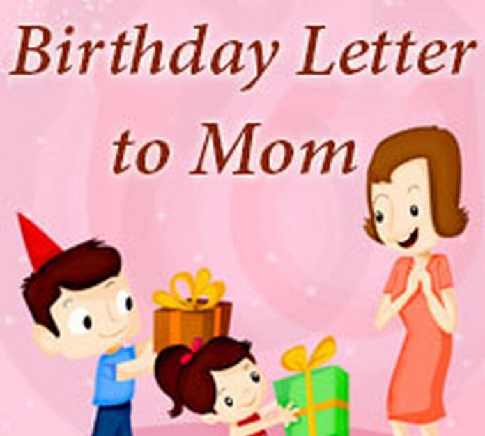 Mom Birthday Letter