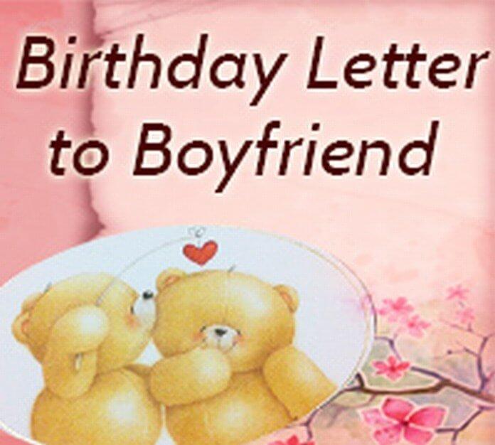 Birthday Letter To Boyfriend