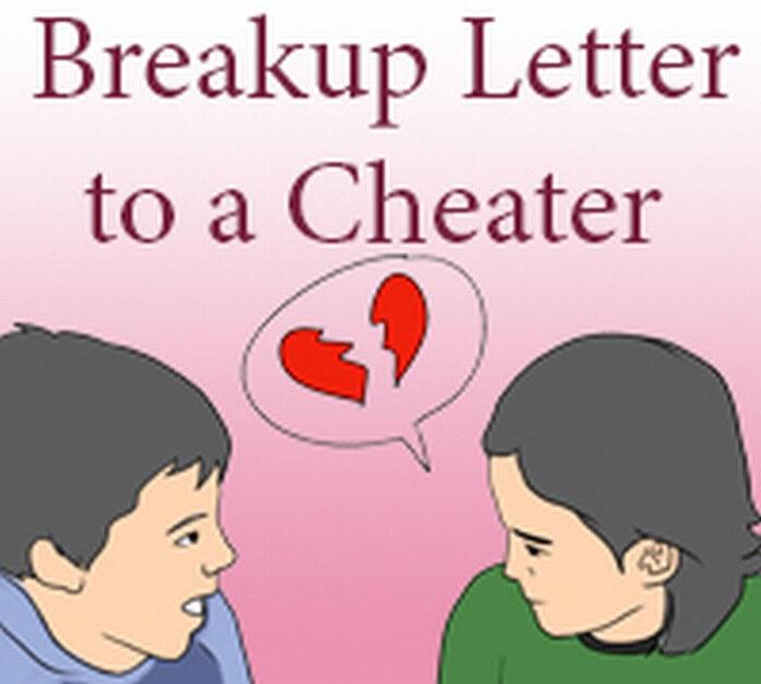 Break up Letter to Cheater