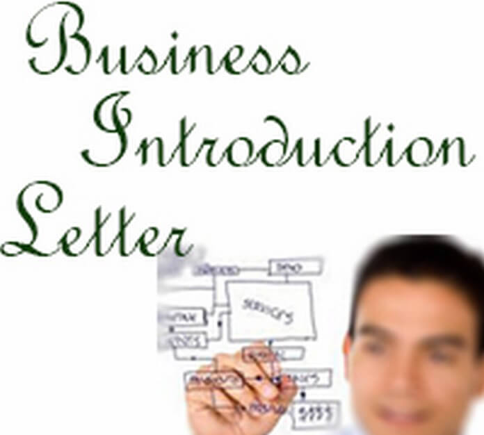 Business introduction letter templates, introduction letter Examples. Sample format