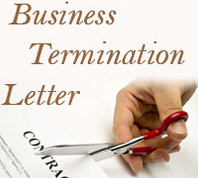 Business Termination Letter