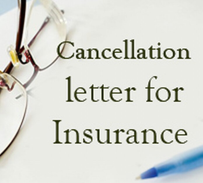 Insurance Cancellation Letter - Free Letters