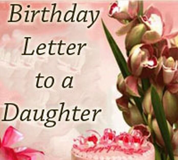 Sample Birthday Letter to a Daughter