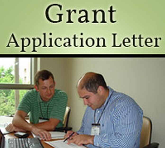 Grant Application Letter