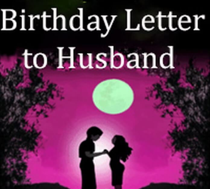 Birthday Letter to Husband