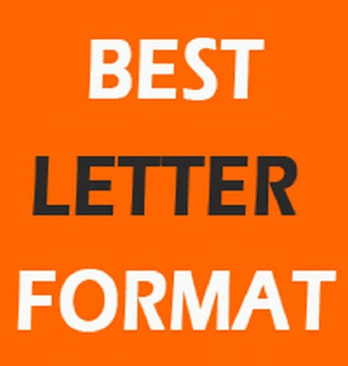best letter format
