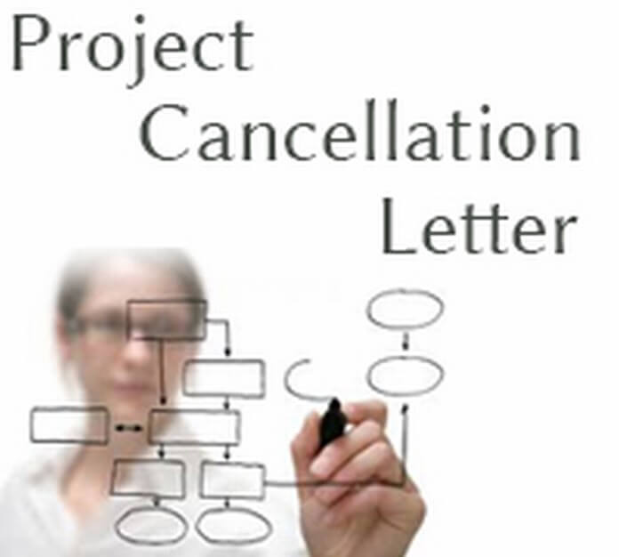 Sample Project Cancellation Letter