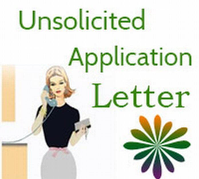 Unsolicited Application Letter