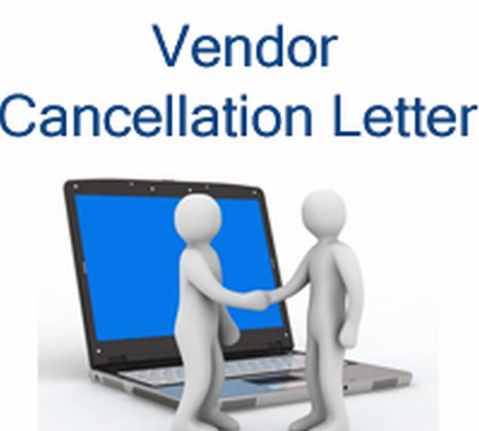 Vendor Cancellation Letter sample