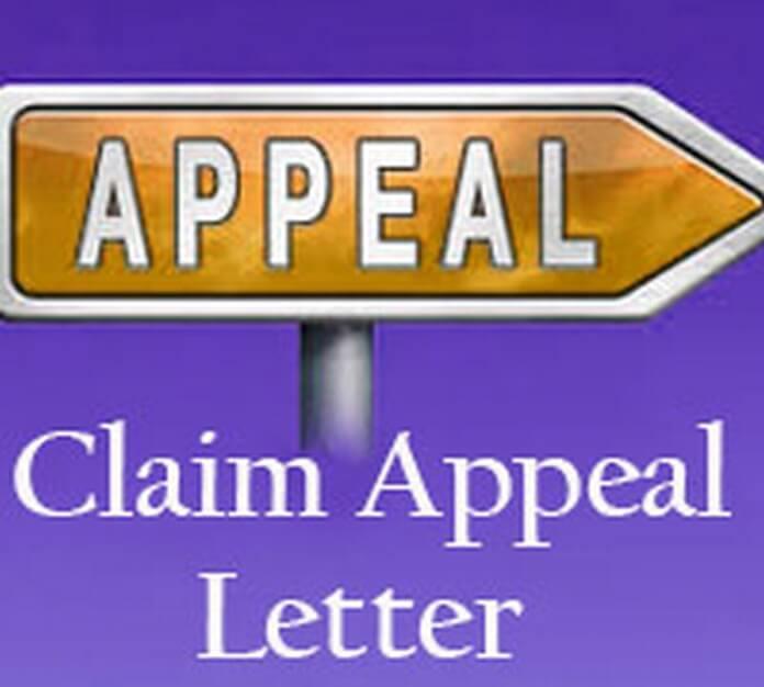 Claim Appeal Letter