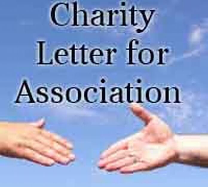 association charity letter