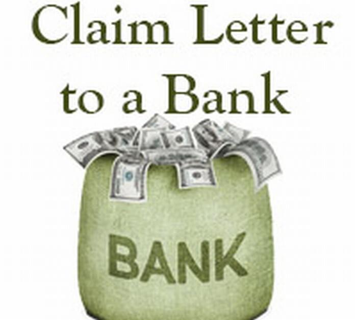 Bank Claim Letter