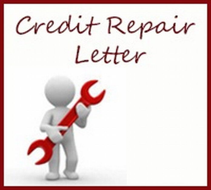 Credit Repair Letter sample