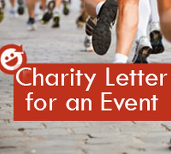 Charity Letter for an Event