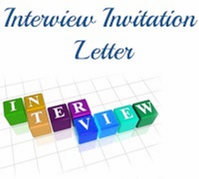 Invitation Interview Letter