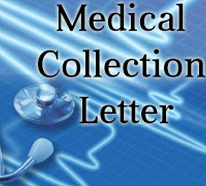 Medical Collection Letter Sample