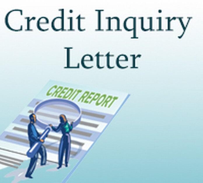 Credit Inquiry Letter
