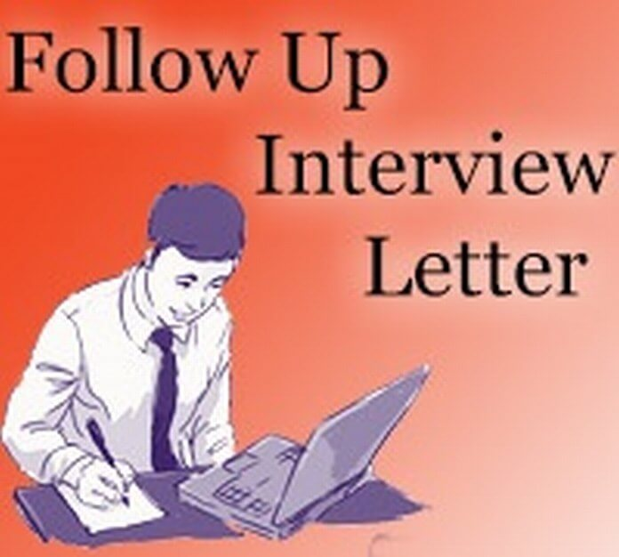 Follow Up Interview Letter