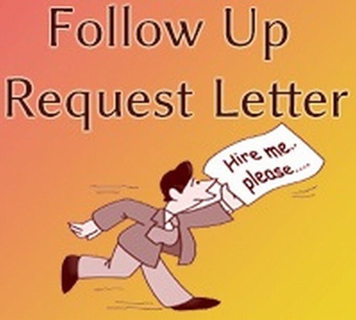 Follow Up Request Letter Format