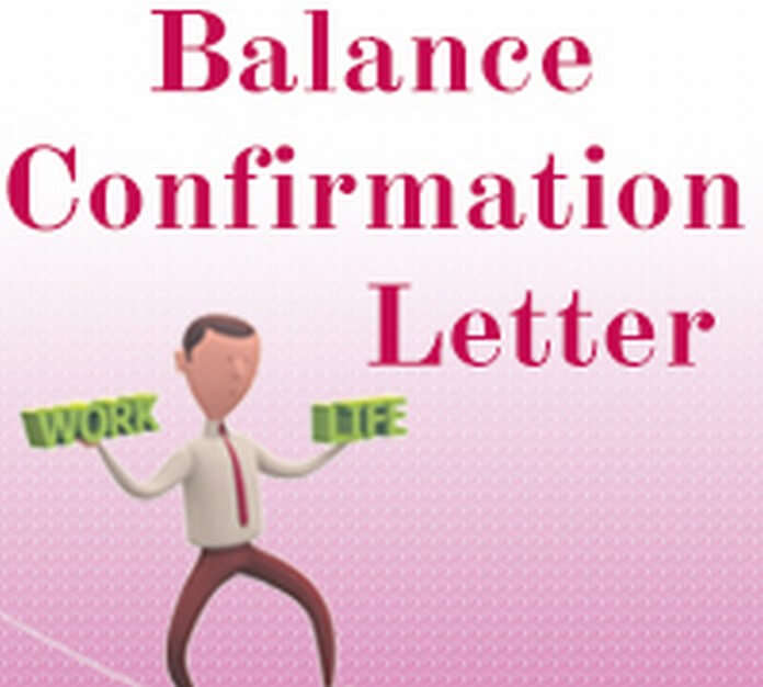 Balance Confirmation Letter