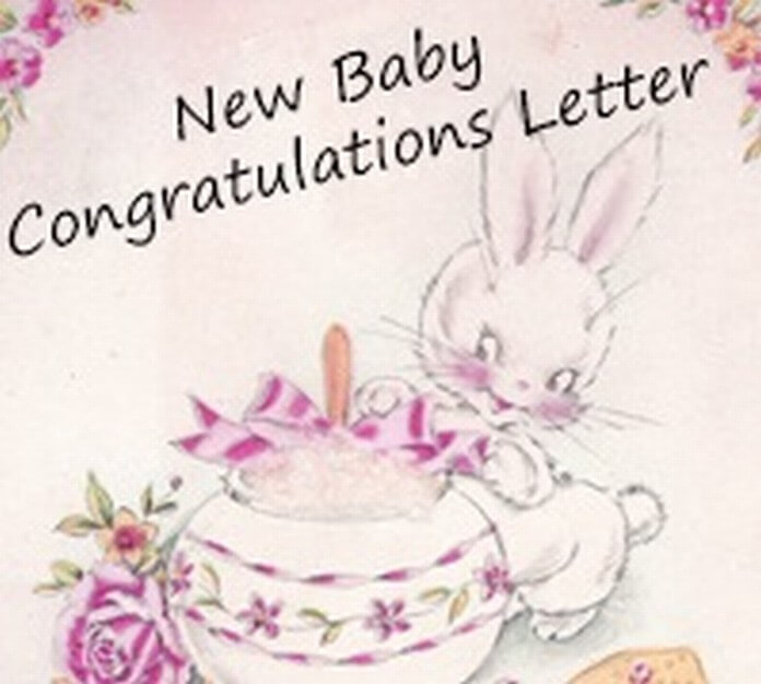 new baby congratulation letter