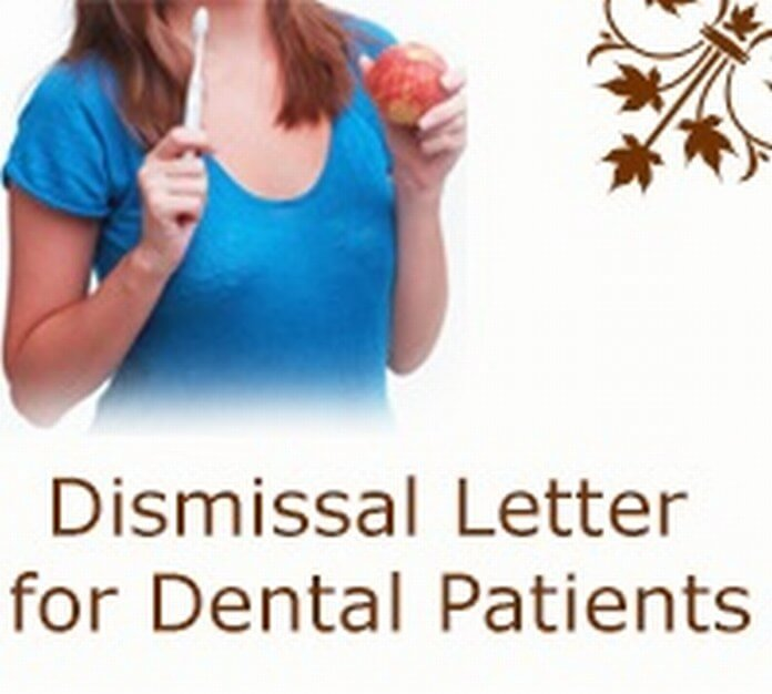 Dismissal Letter for Dental Patients