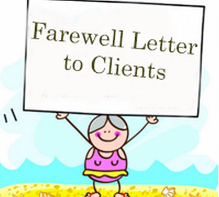 Therapist Goodbye Letter To Clients Sample from www.lettersfree.com