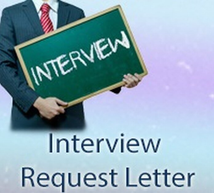 Interview Request Letter sample