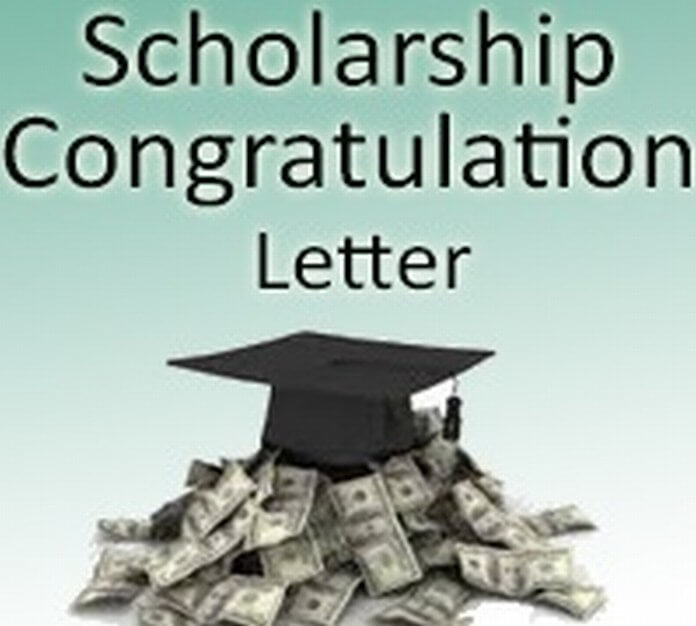 Scholarship Congratulation Letter Example