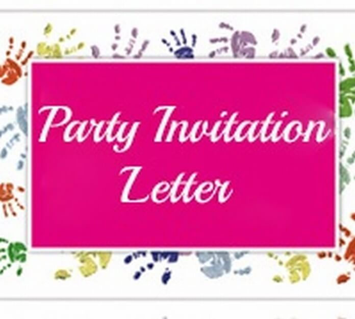 Party Invitation Letter