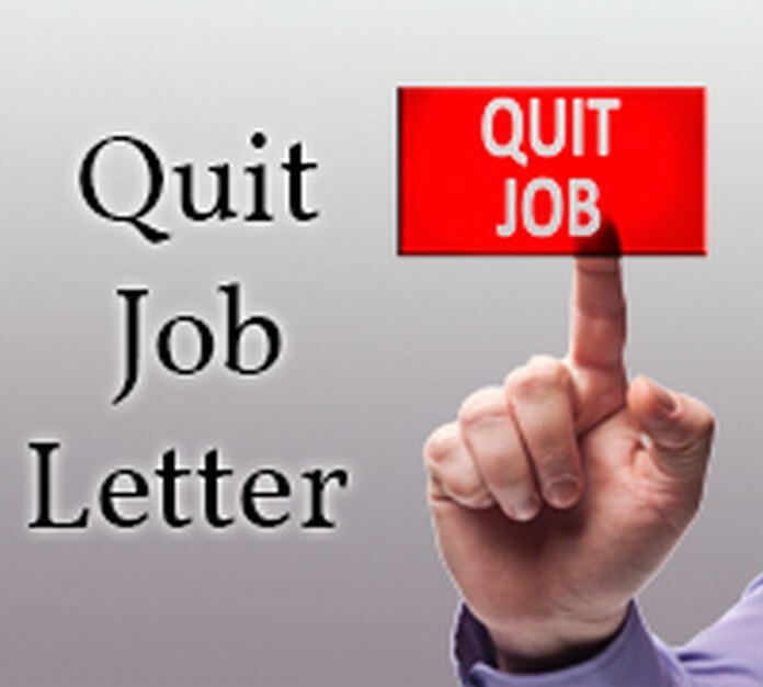 Quit Job Letter