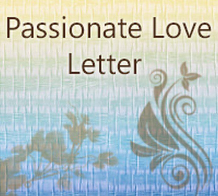 Passionate Love Letter