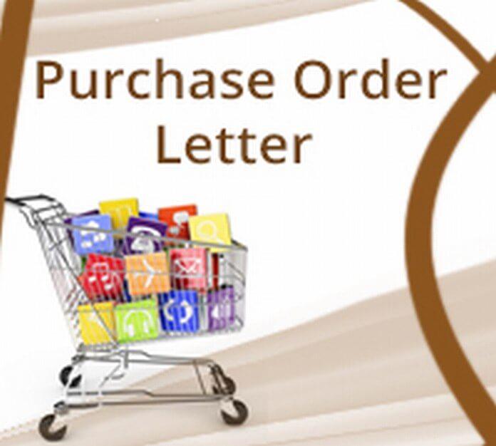 Purchase Order Letter