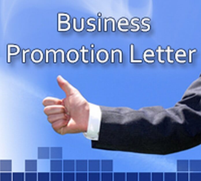 Business Promotion Letter