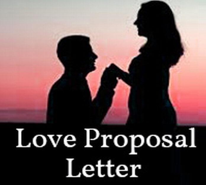Love Proposal Letter