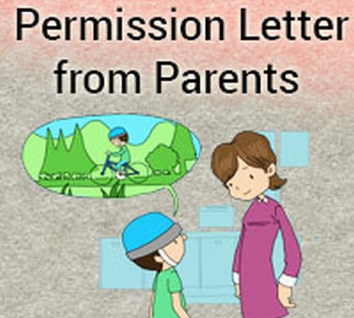 Permission Letter from Parents