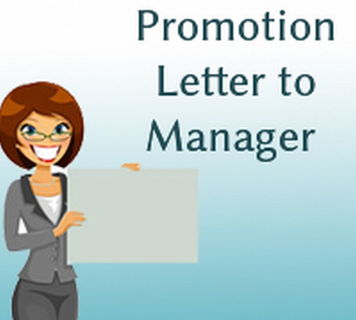 Promotion Letter to Manager
