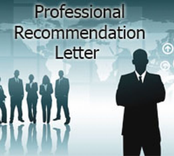 Professional Recommendation Letter