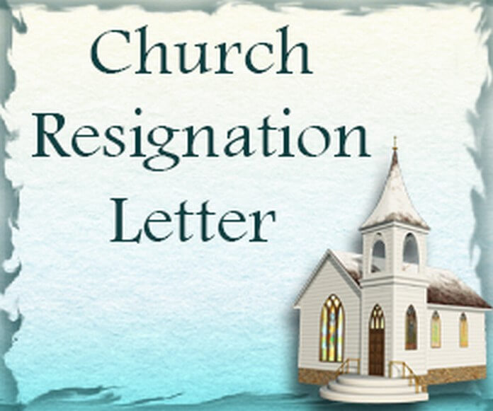 church-resignation-letter Sample Cancellation Of Application Letter on house purchase, patient appointment, nitrogen service,