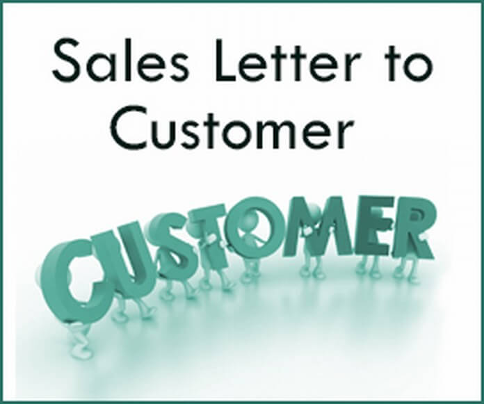 Sales Letter to Customer