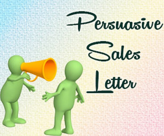 Persuasive Sales Letter