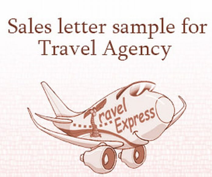 Sales Letter for Travel Agency
