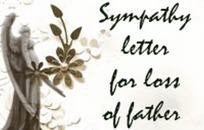 Sympathy Letter for Loss of Father