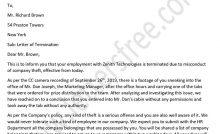 Constructive Dismissal Letter Free Letters